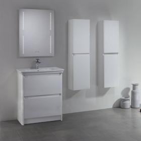 Tavistock Equate White Gloss 700mm Freestanding Unit & Basin