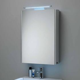 Roper Rhodes Equinox Aluminium Mirror Cabinet With Light