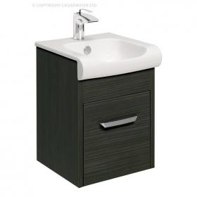 Bauhaus Essence 40 Anthracite Vanity Unit & Basin