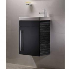 Roper Rhodes Esta Anthracite 460mm Wall Mounted Unit & Basin