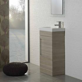 Roper Rhodes Esta Pale Driftwood 460mm Freestanding Unit & Basin