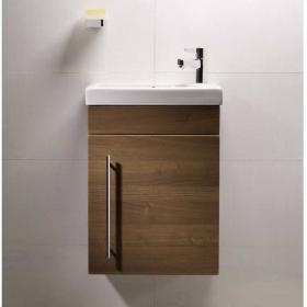 Roper Rhodes Esta Walnut 460mm Wall Mounted Unit & Basin