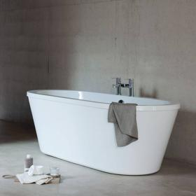 Cleargreen Freestark Double Ended Freestanding Bath
