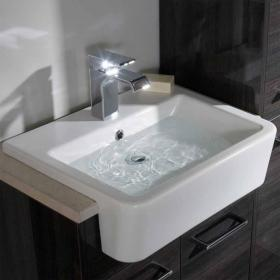 Roper Rhodes Geo 515mm Semi Countertop Basin