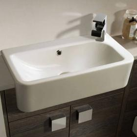 Roper Rhodes Geo Slim Depth Semi Countertop Basin