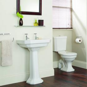 Heritage Granley Deco Toilet With Portrait Cistern & Basin Set
