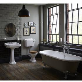 Heritage Granley Low Level Complete Bathroom Suite