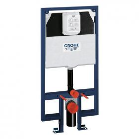 Grohe Rapid SL 1.13M Slimline Wall Hung WC Frame & Cistern