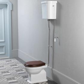 GSI Classic 54 High Level WC, Cistern & Soft Close Seat