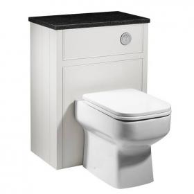 Roper Rhodes Hampton 600mm Chalk White Back To Wall WC Unit