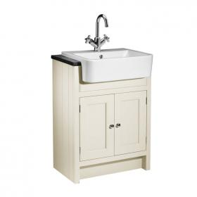 Roper Rhodes Hampton 600mm Vanilla Semi Countertop Unit & Basin