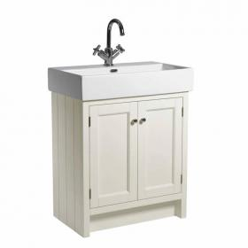 Roper Rhodes Hampton Vanilla 700mm Countertop Unit & Basin