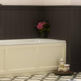 Roper Rhodes Hampton 1700mm Vanilla Front Bath Panel