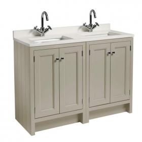Roper Rhodes Hampton 1200mm Mocha Underslung Vanity Unit, Basin & Worktop