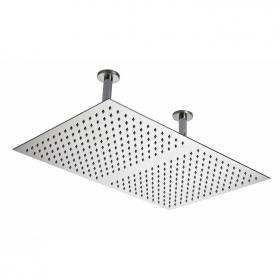 Hudson Reed Stainless Steel Rectangular Ceiling Shower Head