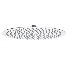 Hudson Reed Slim 400mm Stainless Steel Round Fixed Shower Head