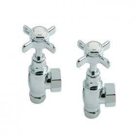 Heritage Traditional Chrome Radiator Valves