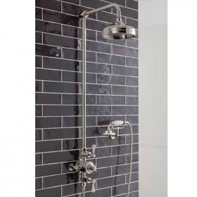 Crosswater Belgravia Nickel Exposed Shower Valve With 8