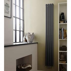 Hudson Reed Revive Compact Anthracite Double Panel Radiator