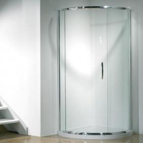 Kudos Infinite Curved Sliding Side Access Shower Enclosure & Tray
