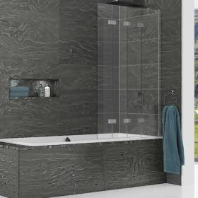 Kudos Inspire Four Panel In-Fold Bath Screen