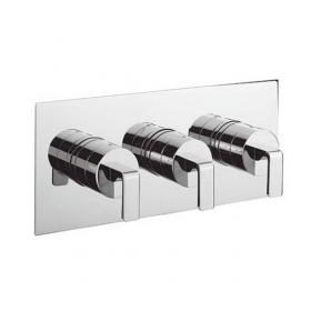 Crosswater Kelly Hoppen Zero 1 Landscape Thermostatic Shower Valve With 2 Way Diverter