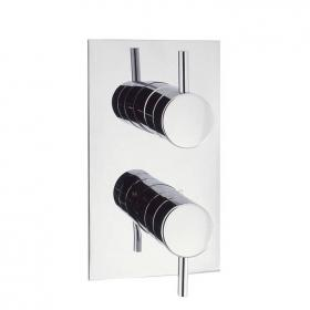 Crosswater Kai Lever Twin Shower Valve With 3 Way Diverter