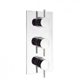 Crosswater Kai Lever Thermostatic Shower Valve With 3 Way Diverter