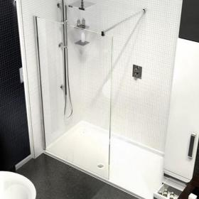 Kudos Ultimate2 1600mm Walk In Shower & Tray