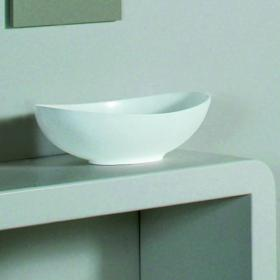 BC Designs Kurv Cian Solid Surface Basin