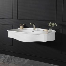 Victoria + Albert Lavello 114 Volo Gloss White Vanity Unit & Basin
