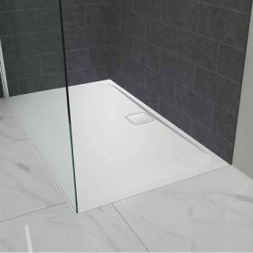 Merlyn Level 25 1400 x 900mm Rectangle Shower Tray & Waste