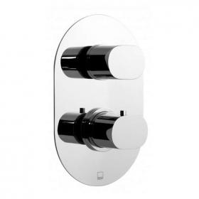 Vado Life Twin Outlet Thermostatic Shower Valve