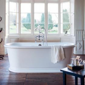 Burlington London Round Soaking Tub