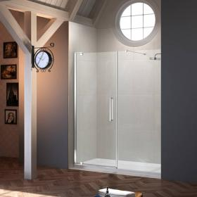 Merlyn 10 Series Pivot Shower Door With Inline Panel