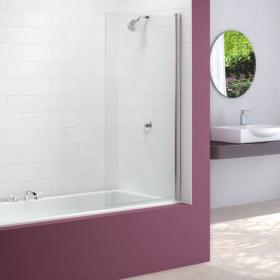 Merlyn MB2 Single Square Bath Screen