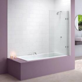 Merlyn MB6 Hinged Square Bath Screen