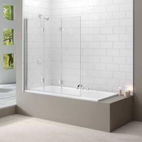 Merlyn MB9 Three Panel Folding Bath Screen