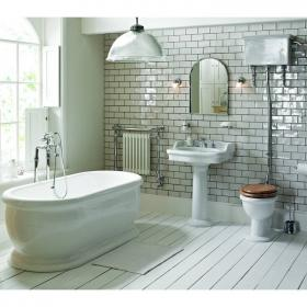 Heritage New Victoria High Level Bathroom Suite