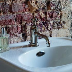 Arcade Nickel Mono Single Lever Basin Mixer