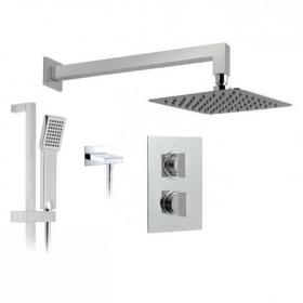Vado Notion Twin Outlet Thermostatic Shower Valve Pack