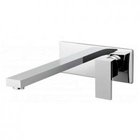 Vado Notion Wall Mounted Basin Mixer With 220mm Spout