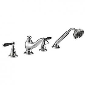 Imperial Notte 4 Hole Bath Filler With Handset