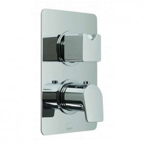Vado Photon Twin Outlet Thermostatic Shower Valve