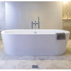 BC Designs Plazia 1780mm Freestanding Bath
