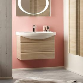 Roper Rhodes Profile Pale Driftwood 600mm Wall Mounted Unit & Basin