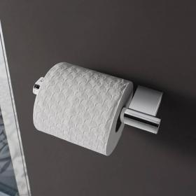 Crosswater Mike Pro Chrome Toilet Roll Holder