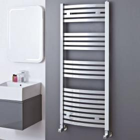 Phoenix Rochell Curved Chrome Electric Radiator