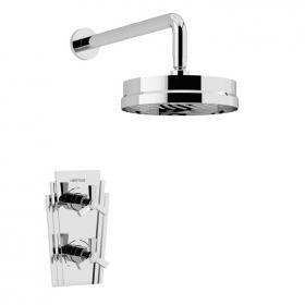 Heritage Gracechurch Recessed Shower Valve With Deluxe Fixed Shower Head
