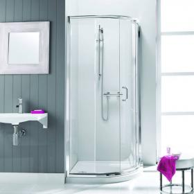 Simpsons Supreme 900mm Single Door Quadrant Shower Enclosure & Tray